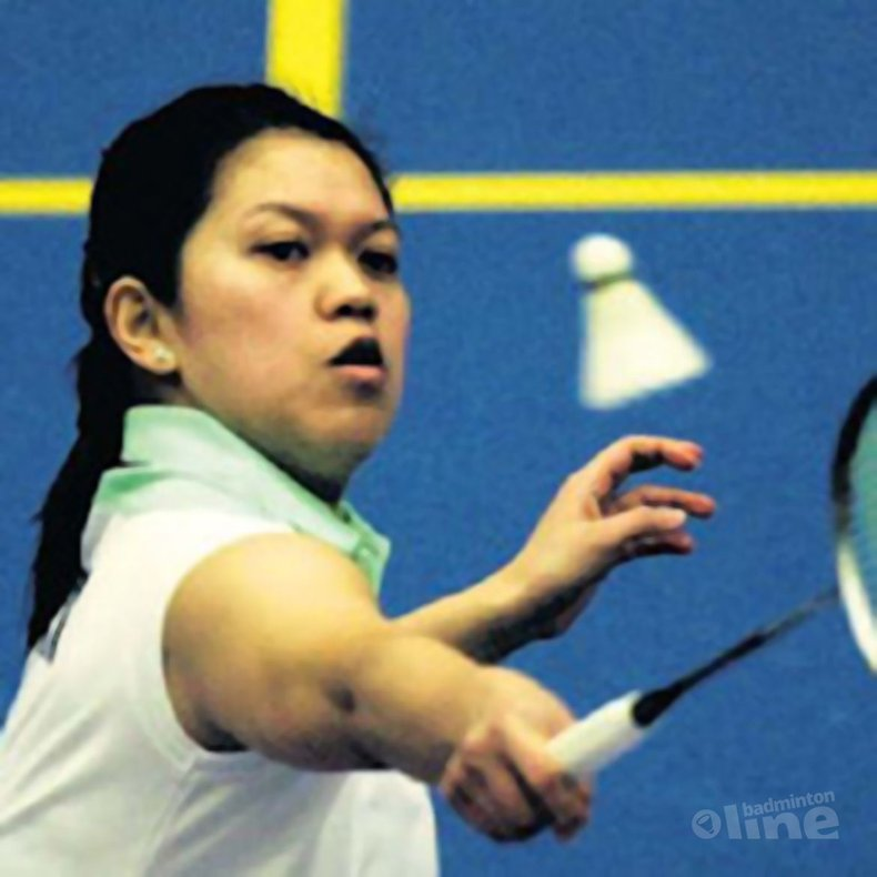 Deze afbeelding hoort bij ''Comeback van badmintonster Audina voorbij'' en is gemaakt door ANP / Volkskrant