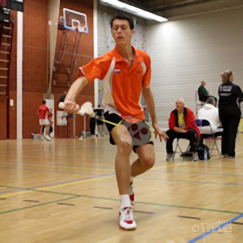 Vincent de Vries in selectie eredivisie BC Amersfoort - Alex van Zaanen