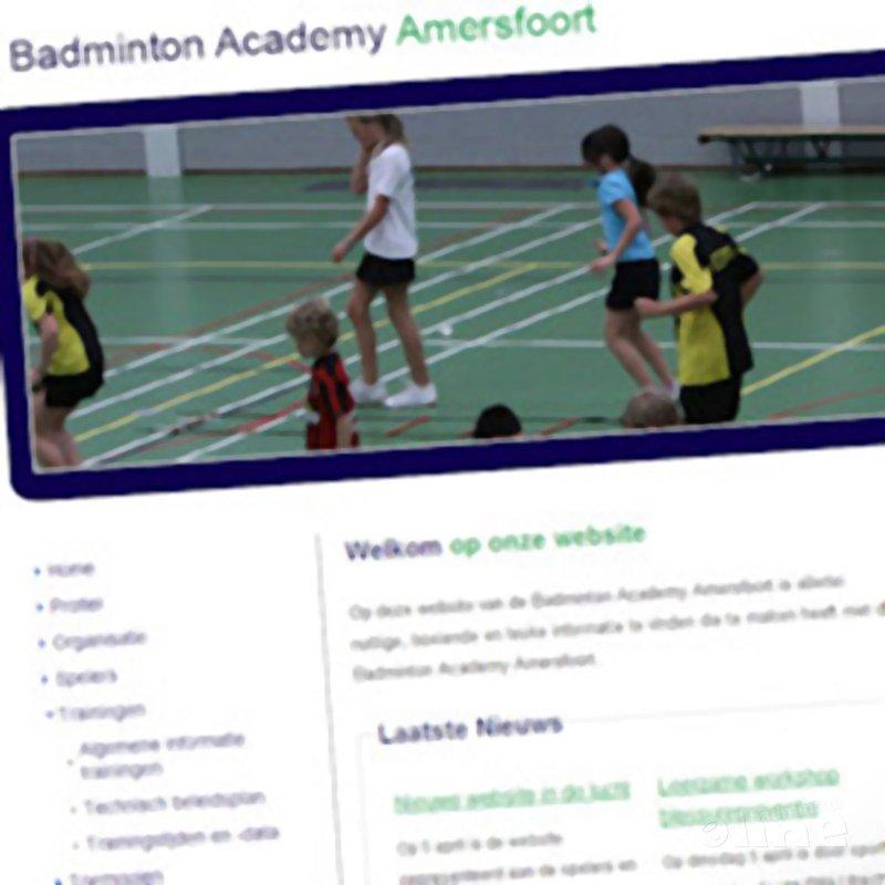 BA Amersfoort heeft nieuwe website - Badminton Academy Amersfoort