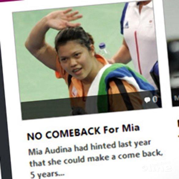 Badzine: 'NO COMEBACK For Mia' - Badzine
