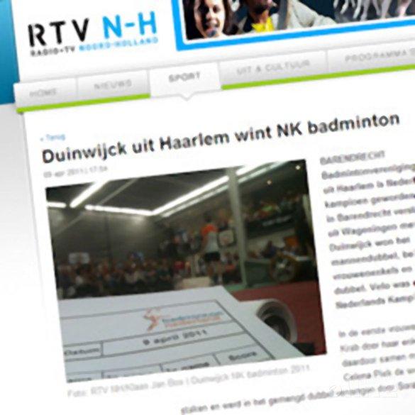 Duinwijck uit Haarlem wint NK badminton - RTV N-H