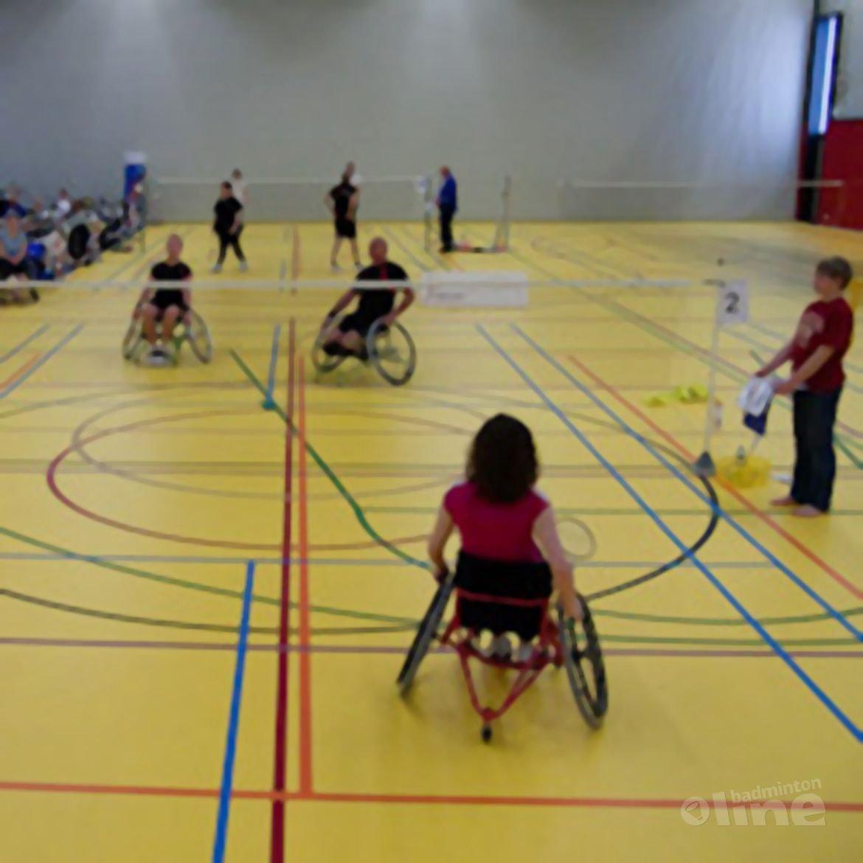 Uitslagen NK Aangepast Badminton 2011