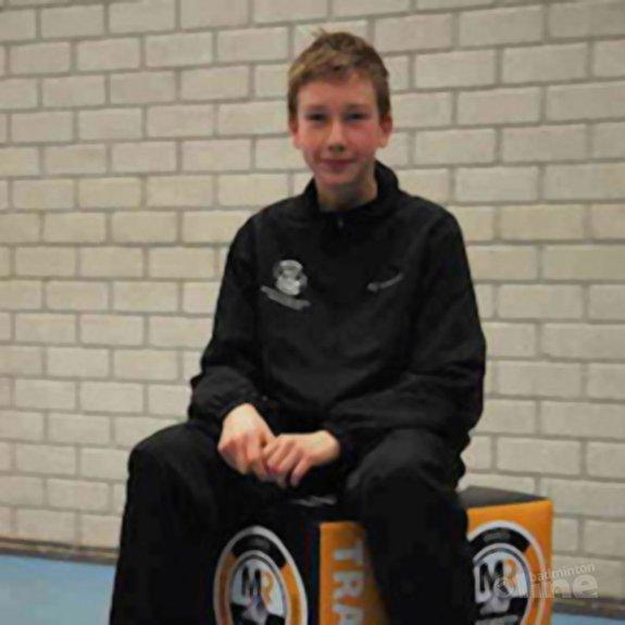 Deze afbeelding hoort bij 'Jerdi de Goeij geselecteerd voor beloftenteam U13' en is gemaakt door MR Badminton