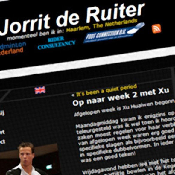 Op naar week 2 met Xu - Jorrit de Ruiter