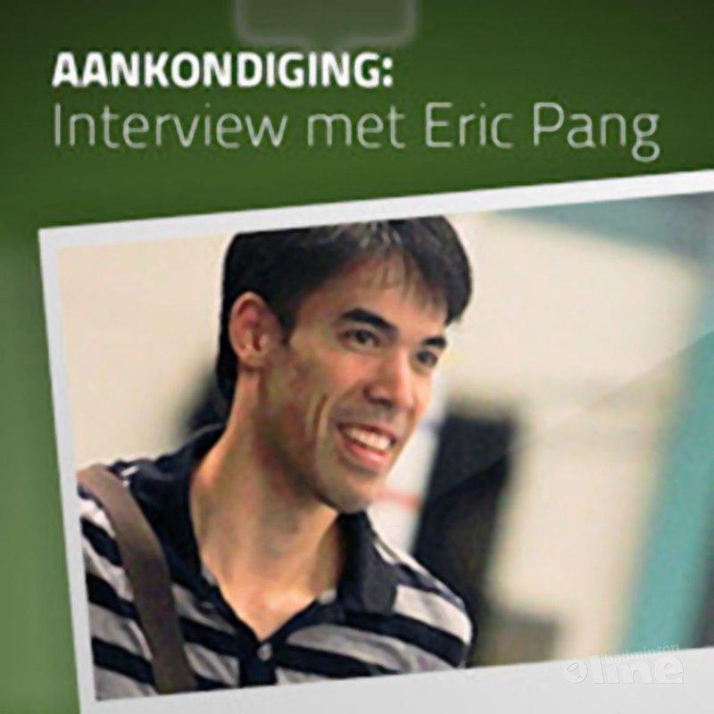 Binnenkort: in gesprek met Eric Pang - badmintonline.nl