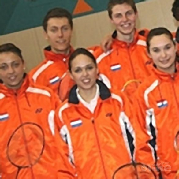Oranje naar EJK in Finland - Badminton Nederland