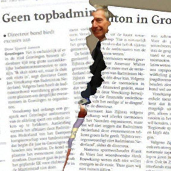 Badminton Nederland volkomen stuurloos - CdR