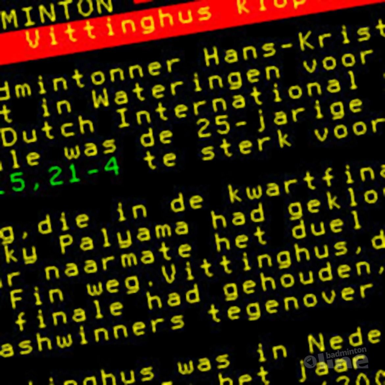 Vittinghus klopt Lang in finale
