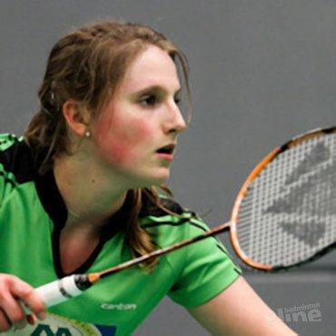 Kirsten op de Dutch International