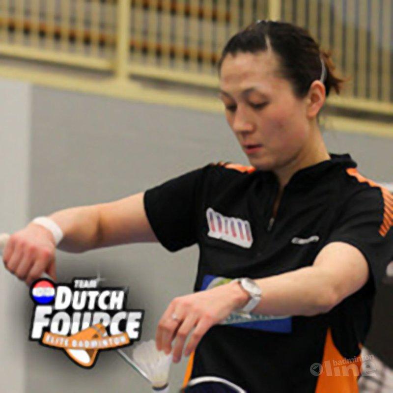 Yao Jie in kwartfinale Sunrise India Open SuperSeries - René Lagerwaard