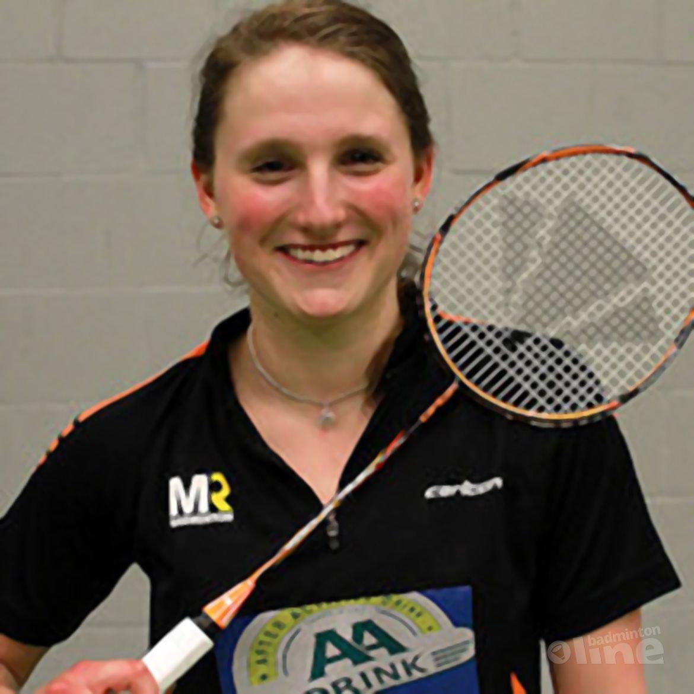 Kirsten van der Valk sluit sponsordeal met MR Badminton
