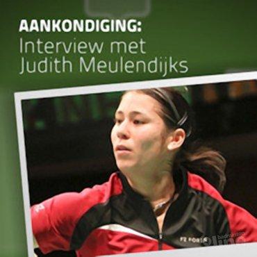 Dinsdag: interview met Judith Meulendijks