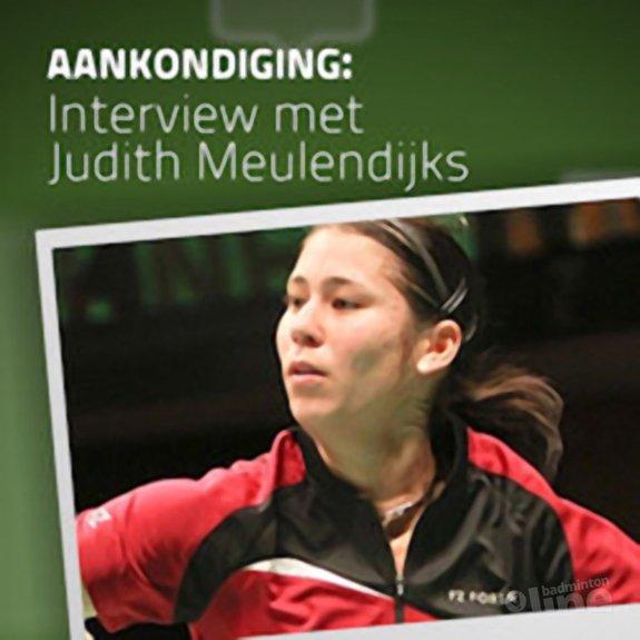 Dinsdag: interview met Judith Meulendijks - CdR