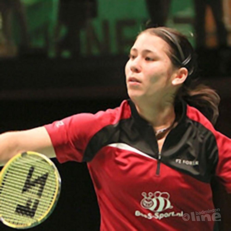 Judith Meulendijks in Europa's beste badmintonland