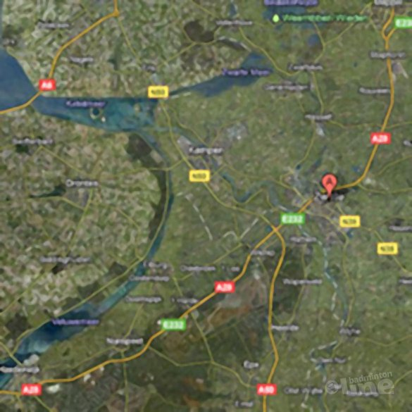 Zwolle gastheer Europacup badminton 2011 - Google Maps