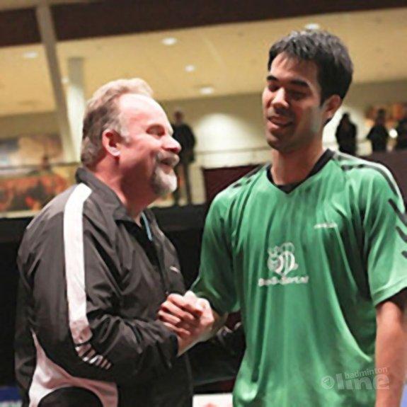 Deze afbeelding hoort bij 'Ron Daniëls wil voorzitter worden van Badminton Nederland' en is gemaakt door Alex van Zaanen