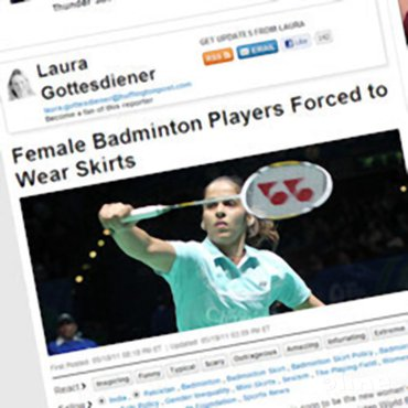 Female Badminton Players Forced to Wear Skirts