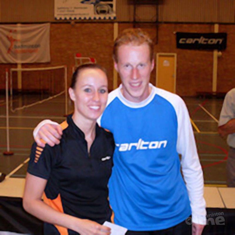 Nottelman en Molenmaker gouden duo - badmintonline.nl