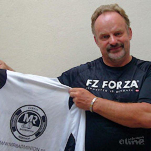 Deze afbeelding hoort bij 'MR Badminton en Ron Daniëls werken samen voor het Orø-kamp' en is gemaakt door MR Badminton