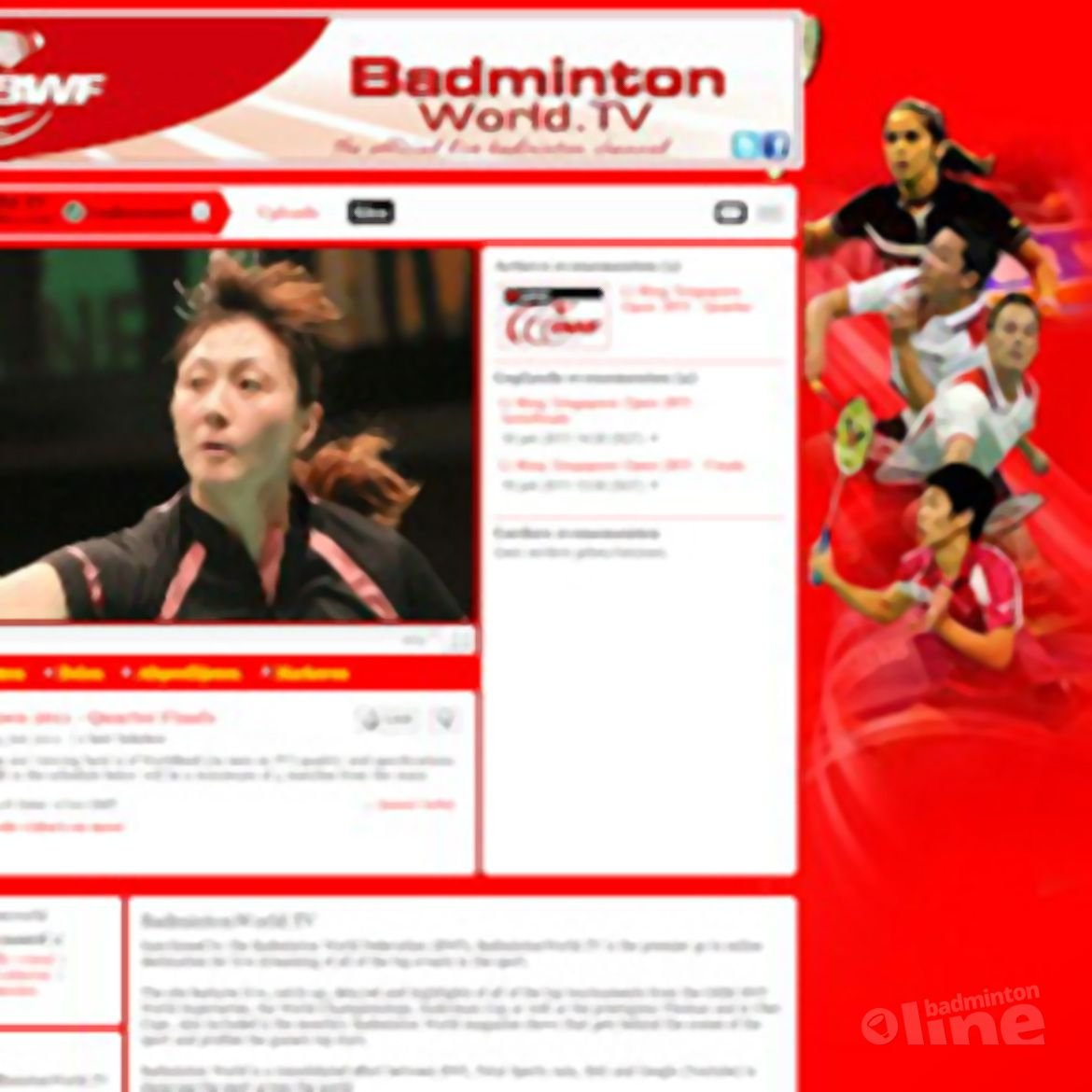 BWF launch official live streaming badminton channel on YouTube