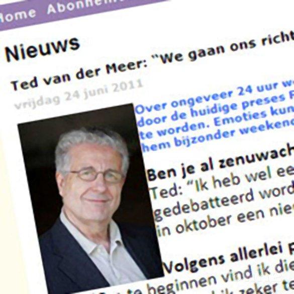 Ted van der Meer: 'We gaan ons richten op de core business van de bond' - BadmintonInfo