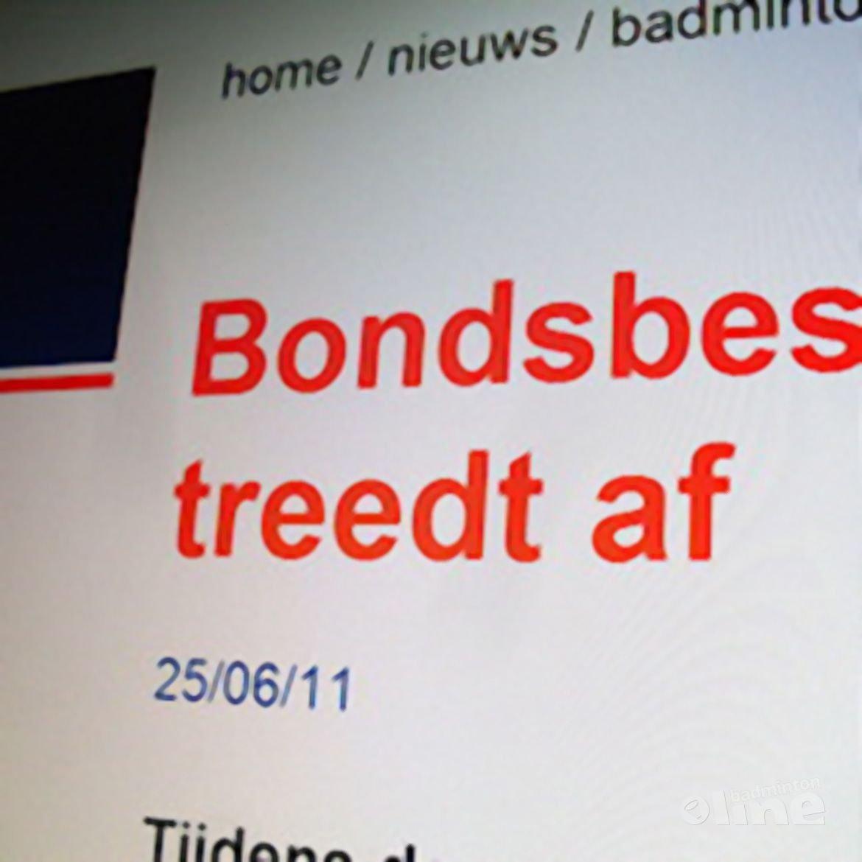 Bondsbestuur Badminton Nederland treedt af