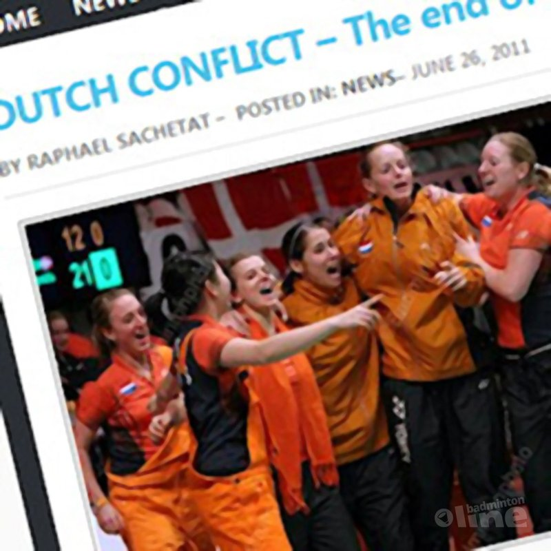 Dutch conflict: 'The end of the tunnel?' - Badzine