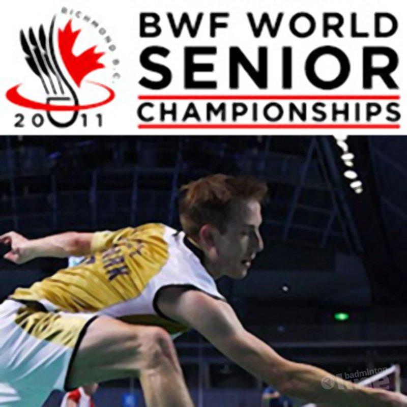 Nederlanders bij WK Veteranen in Canada - BWF World Seniors
