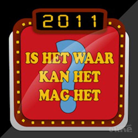 Is het waar, kan het, mag het? - deel 2 - badmintonline.nl