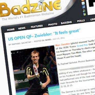 Marc Zwiebler verslaat Taufik Hidayat in kwartfinale US Open