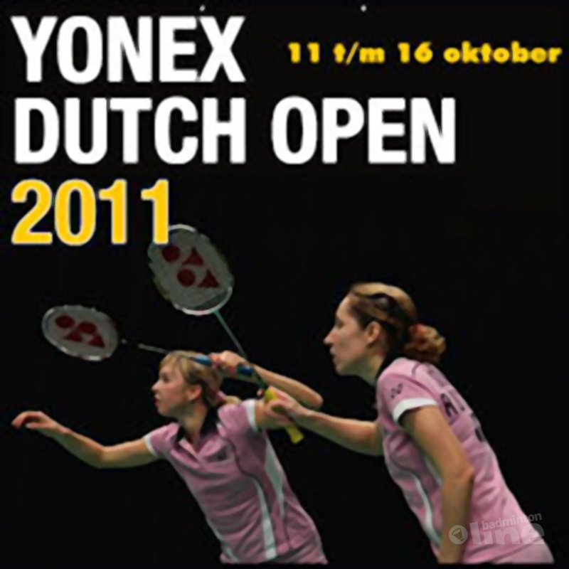 Voorverkoop Yonex Dutch Open gestart - Yonex Dutch Open