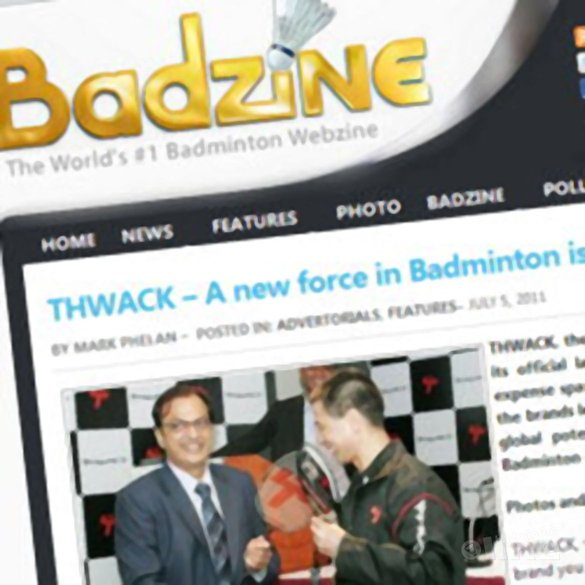 Thwack: een nieuw badmintonmerk - Badzine