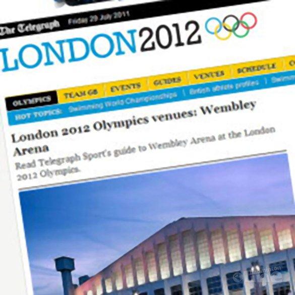 De race naar Londen 2012 - The Telegraph
