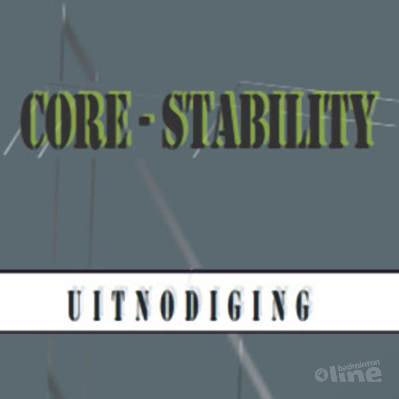 Uitnodiging: bijscholing over core stability op zaterdag 3 september