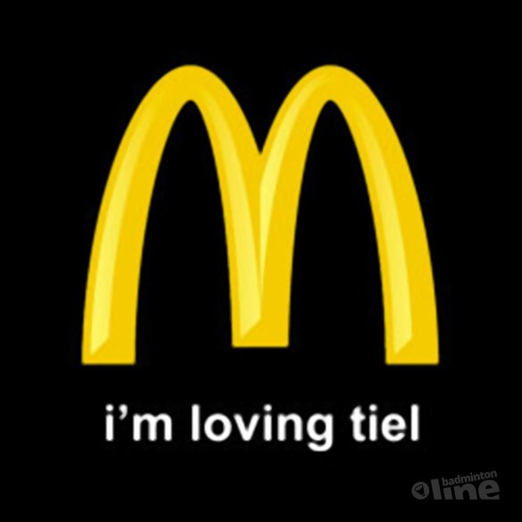 McDonalds sponsort Badminton School Tiel - McDonalds