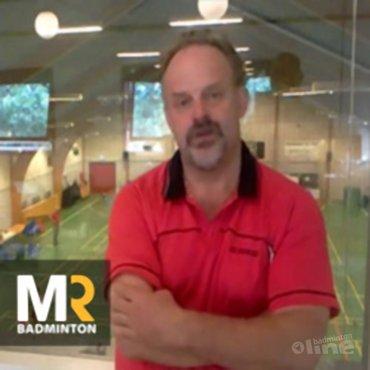MR Badminton interviewt Ron Daniëls