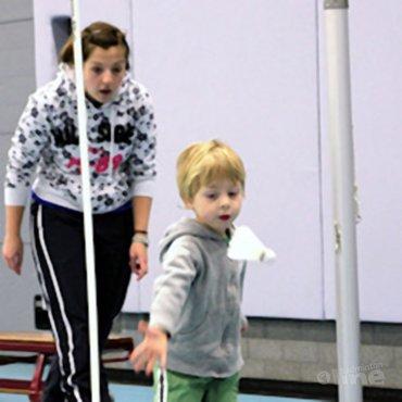Badminton voor de allerkleinsten bij BC DKC