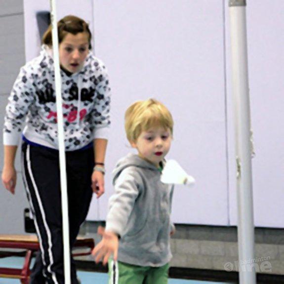 Badminton voor de allerkleinsten bij BC DKC - Nicoline Heekelaar
