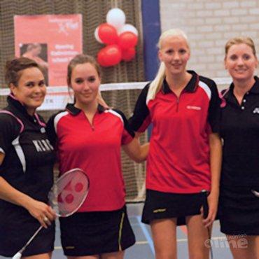 Opening Badminton School Tiel druk bezocht