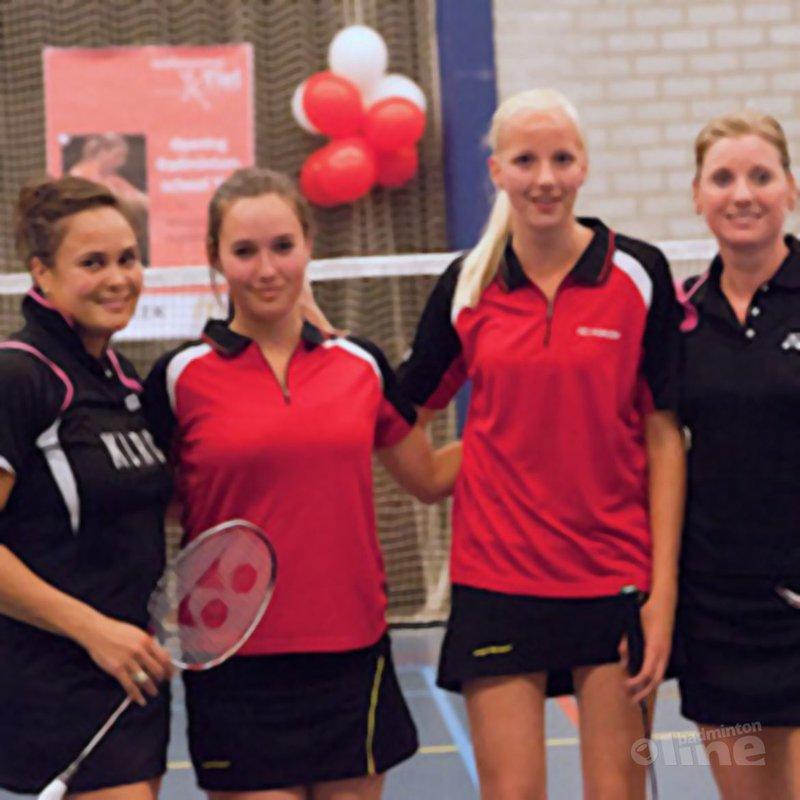 Opening Badminton School Tiel druk bezocht - Badminton School Tiel