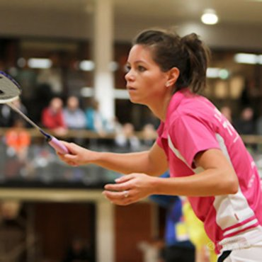 Sarah Lammers is Badmintonbabe van het Jaar 2011