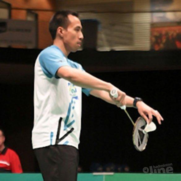 Dicky Palyama naar derde ronde in Taiwan - Alex van Zaanen
