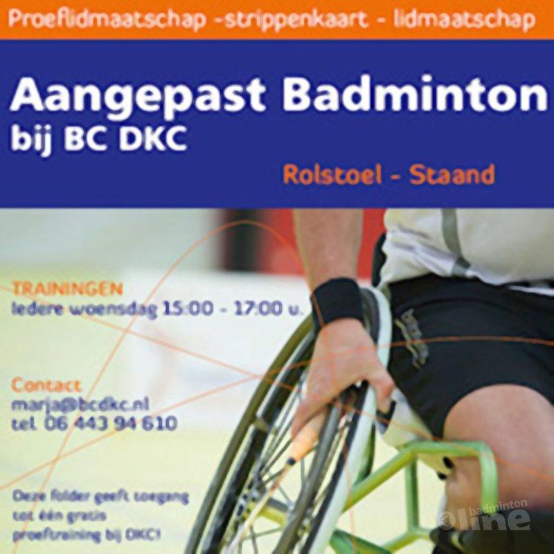 DKC verzorgt aangepast badminton voor 100 kinderen - Badminton Nederland