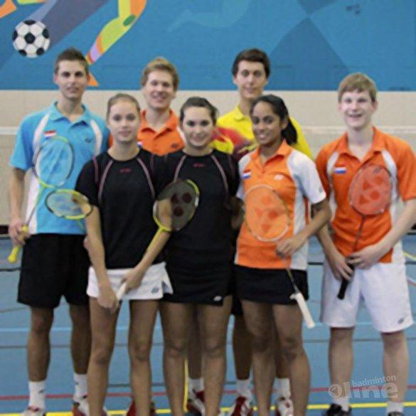 Samenstelling team voor WK Jeugd bekend - Badminton Nederland