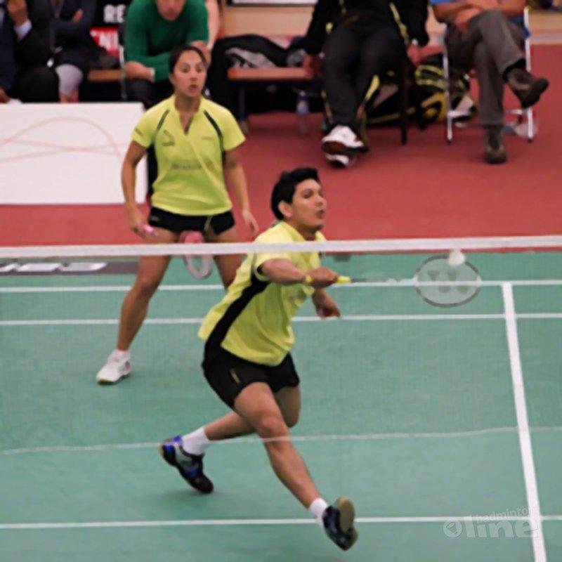 Positioneel badminton voor de gemengddubbel (deel 2) - Alex van Zaanen
