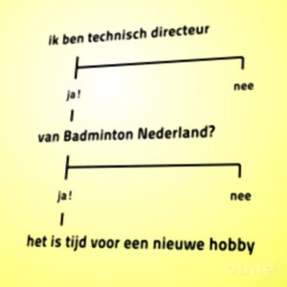 Een motie van wantrouwen: opnieuw - badmintonline.nl