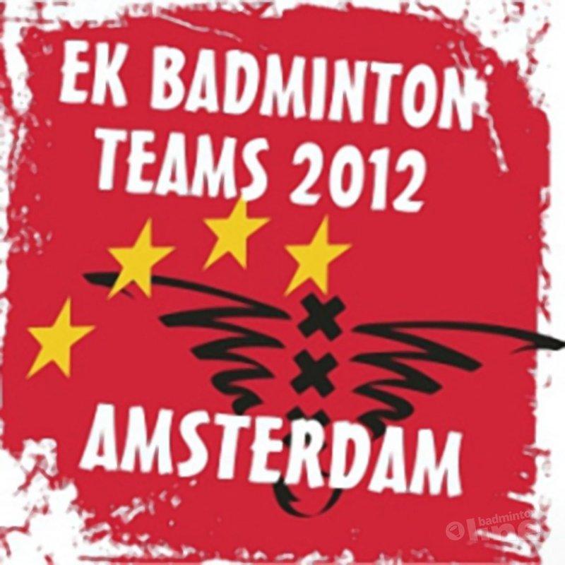 Logo EK Badminton Teams 2012 onthuld - Alex van Zaanen