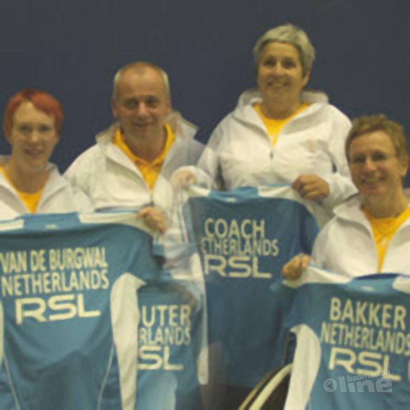 Aangepast badmintonploeg gaat voor goud op WK - RSL Nederland