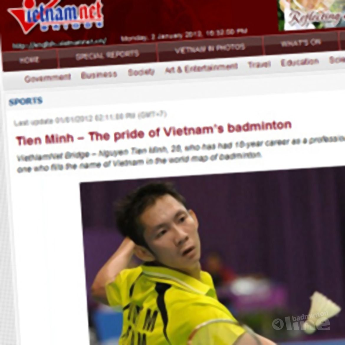 Tien Minh - The pride of Vietnam's badminton