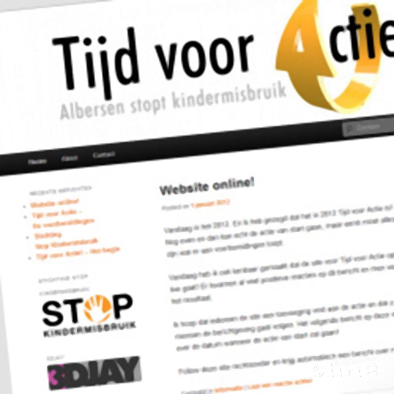 Tijd voor Actie website online